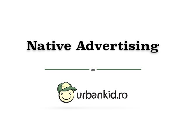 Native Advertising  on