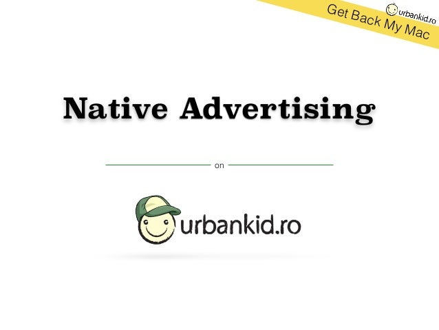 Native Advertising on Get Back My Mac