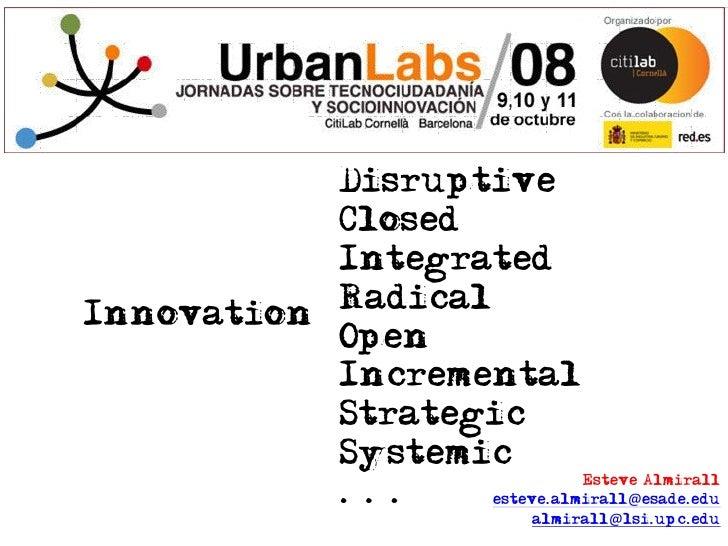 LivingLabs & Open Innovation Slide 3
