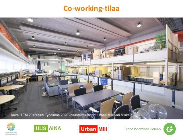 Co-working-tilaa