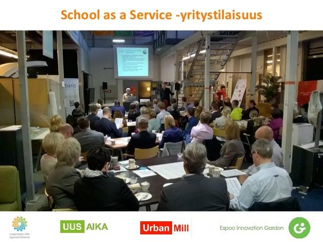 School as a Service -yritystilaisuus