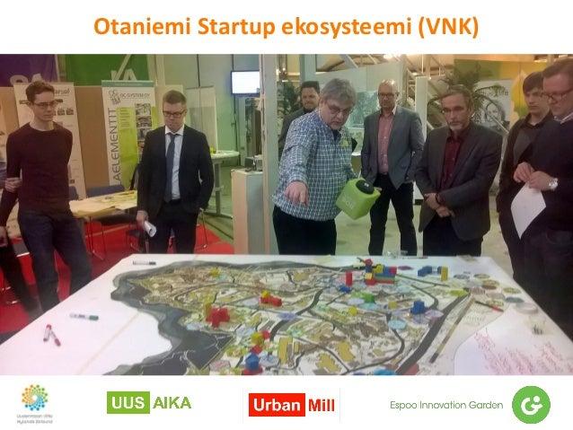 Otaniemi Startup ekosysteemi (VNK)