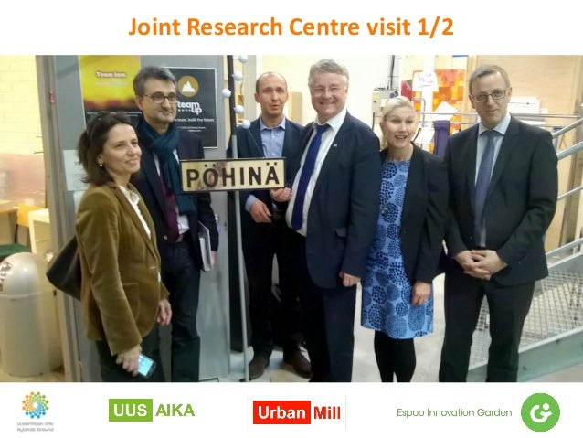 Joint Research Centre visit 1/2