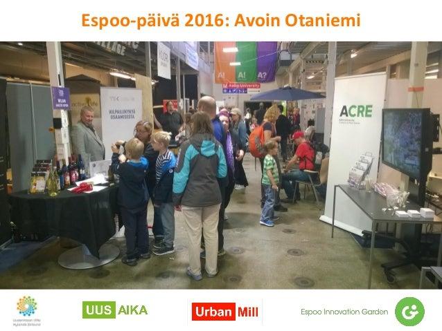 Espoo-päivä 2016: Avoin Otaniemi