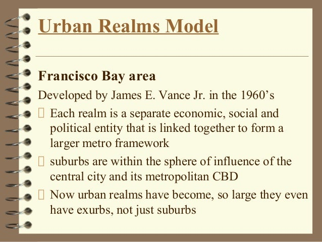 Urban planning theories and models urban realms modelfrancisco ccuart Images
