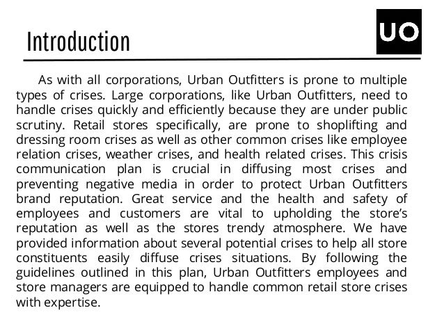 Urban Outfitters Continuing Case Study: Marketing a Business