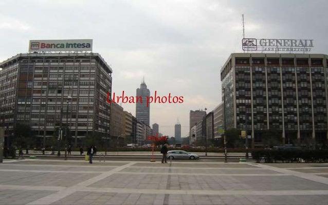 Urban photos milan