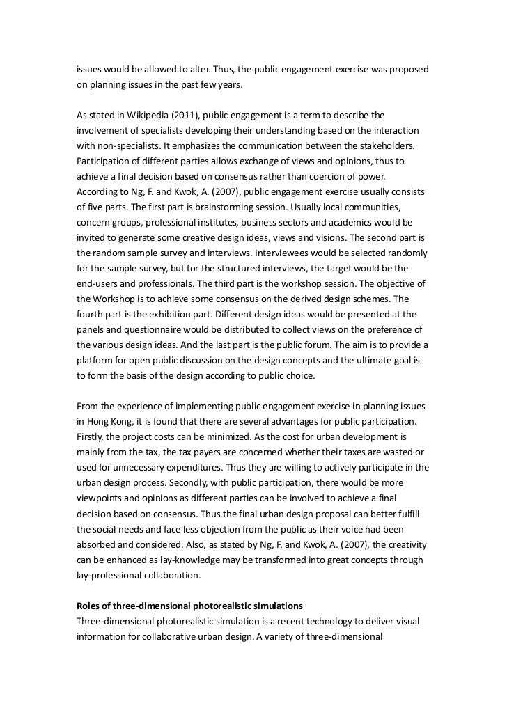urban planning essay proposal Dissertation proposal fabio carrera mit-dusp-cdd october 25, 2002 6 specifically on the advantages and opportunities that exist in the areas of urban maintenance, management and planning.