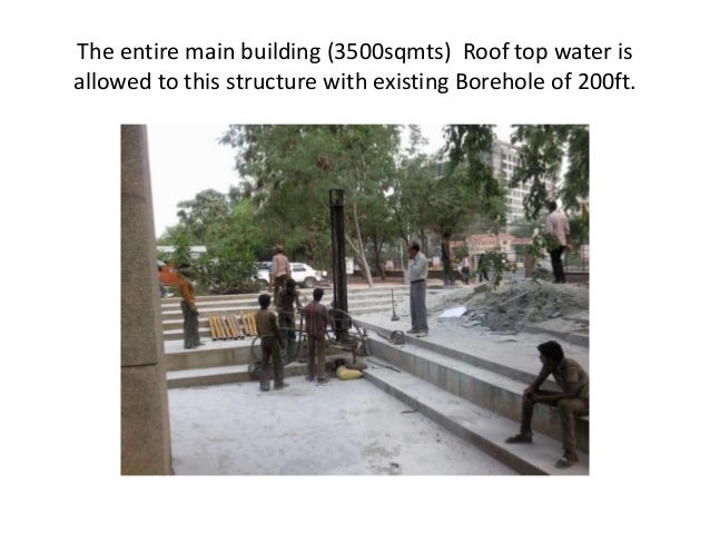 Rainwater Harvesting Experience At Nift Hyderabad Smaran 2013