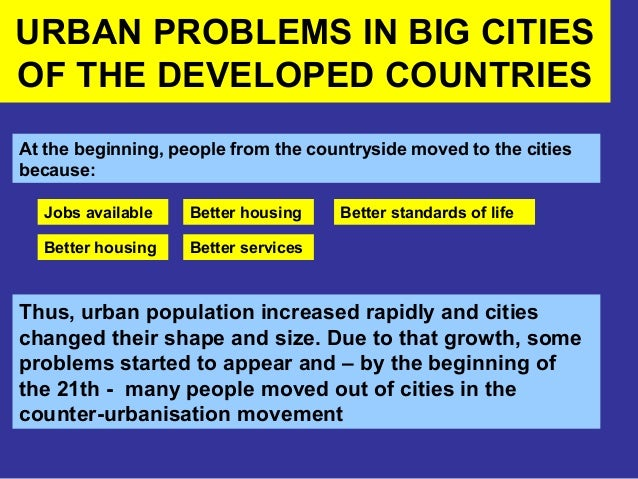 urban issues in developing nations essay What are key urban environmental while there is now widespread agreement that urban environmental issues are united nations development.
