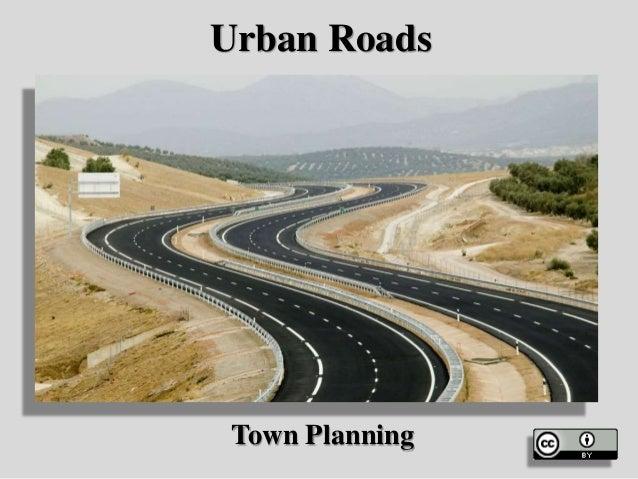 Urban Roads Town Planning