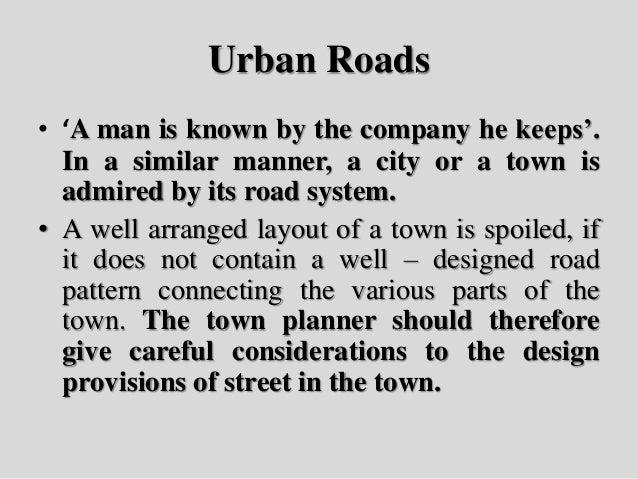 Urban Roads Slide 2