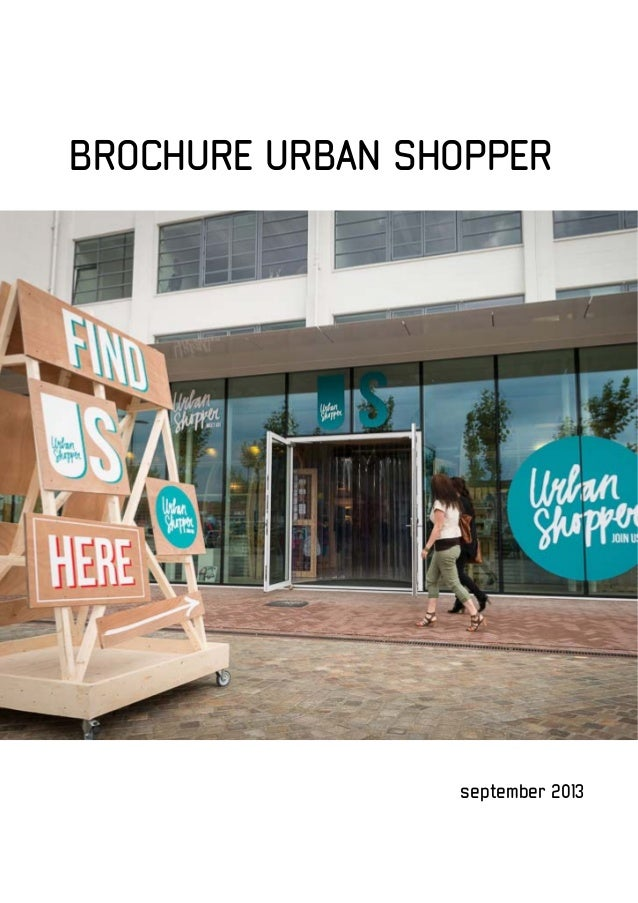 september 2013 BROCHURE URBAN SHOPPER