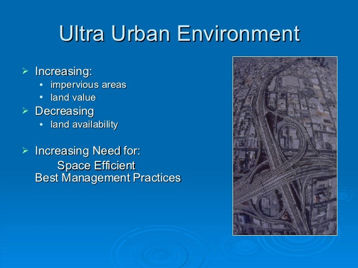 Urban Water Quality Issues Slide 3
