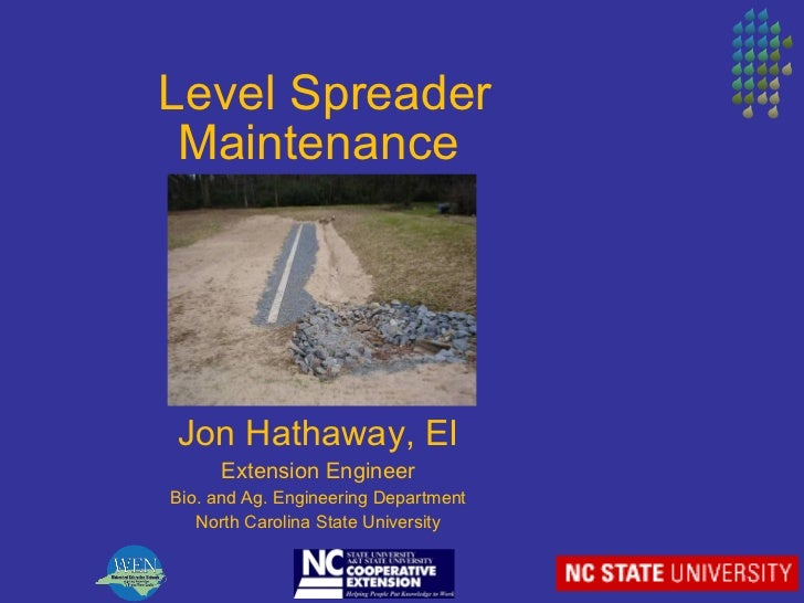 BMP Inspection and Maintenance Training in North Carolina