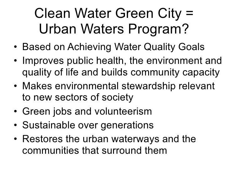 Urban Waters Howard Neukrug Discusses Philadelphias Clean Waters