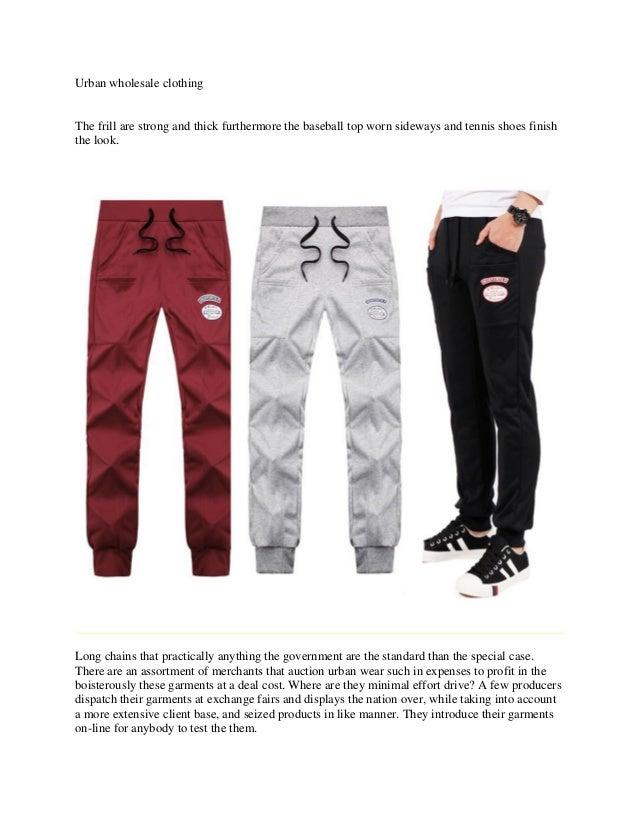 Urban wholesale clothing