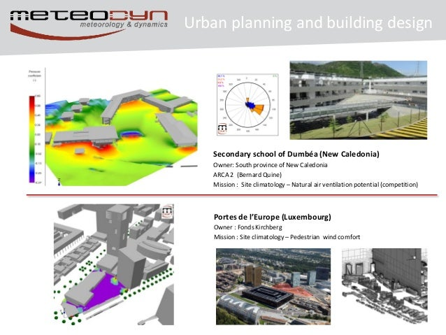 Urba wind planning and building design for Building planning and design