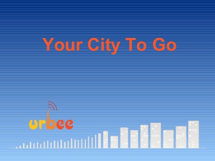 Your City To Go
