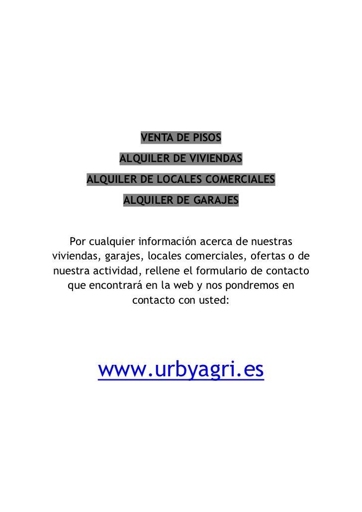 Urbyagri alquiler de pisos valencia - Alquiler de pisos en valencia particular ...
