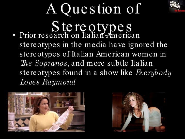 italian women stereotypes