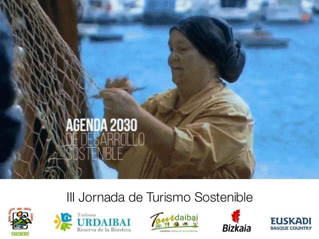 III Jornada de Turismo Sostenible