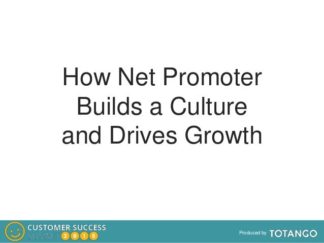 Produced by How Net Promoter Builds a Culture and Drives Growth