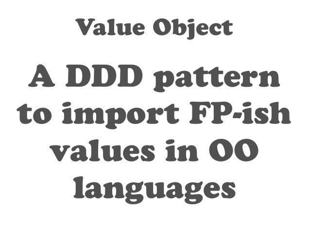Immutability  &  Side-effect-free  functions!