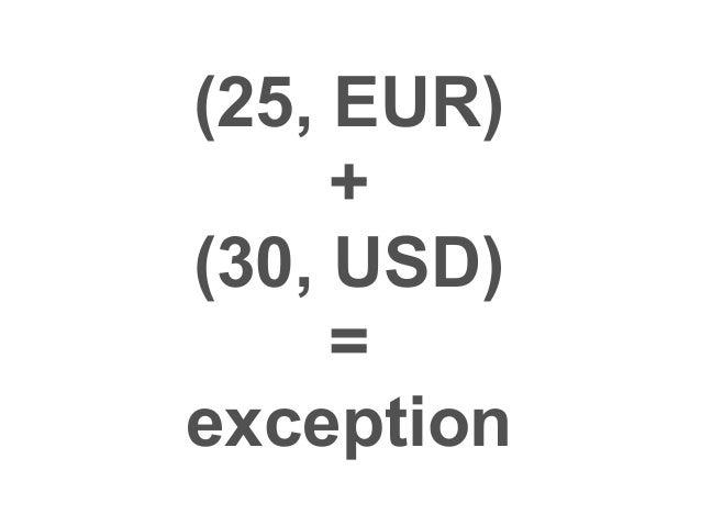 CashFlow  <<ValueObject>>  amount  currency  date  add(CashFlow):CashFlow
