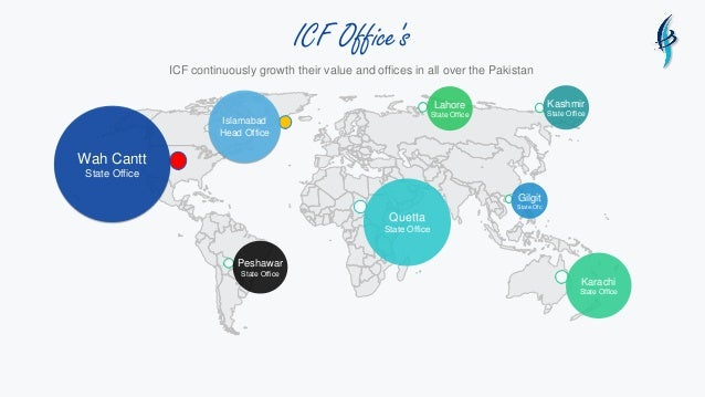 ICF Office's Islamabad Head Office Wah Cantt State Office Quetta State Office Karachi State Office ICF continuously growth...