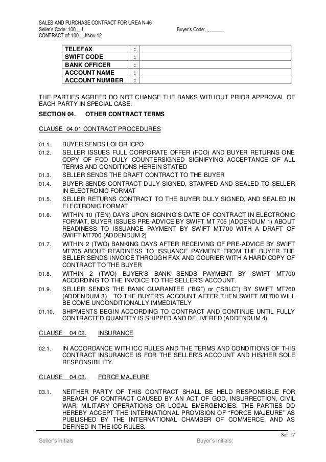Urea draft contract 1200 k mt lc bg(sblc) (2)