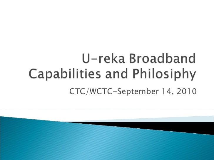 CTC/WCTC-September 14, 2010