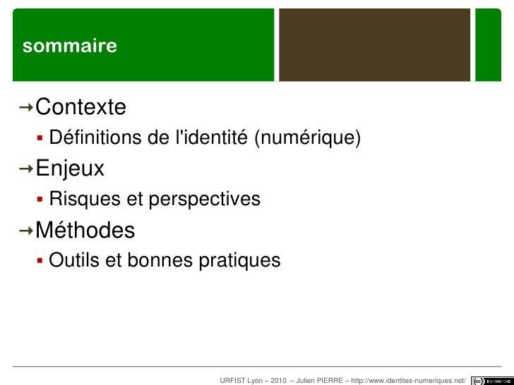 sommaire<br /><ul><li>Contexte