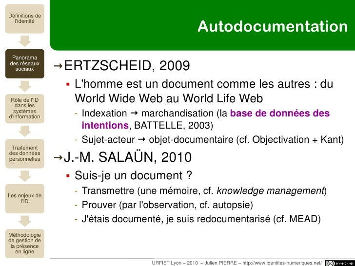 santé (et + si affinités…)<br />URFIST Lyon – 2010  – Julien PIERRE – http://www.identites-numeriques.net/<br />PatientsLi...