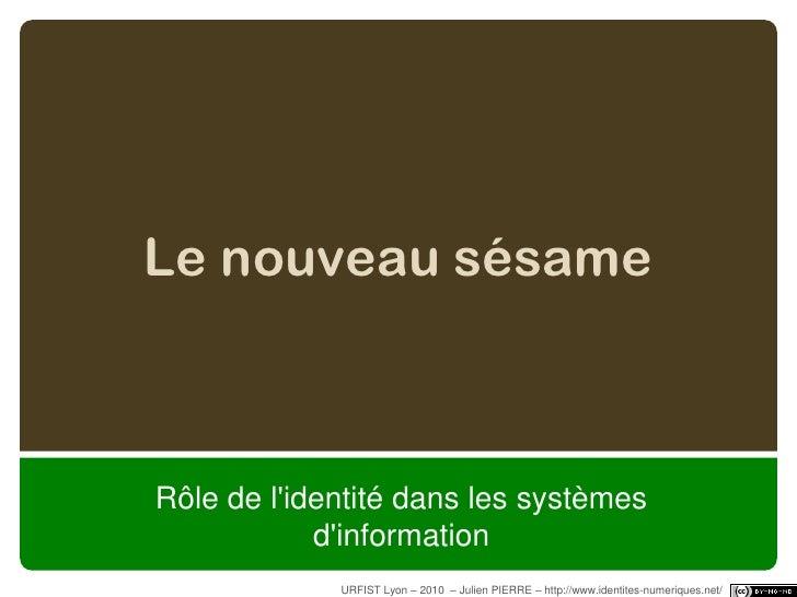 MMORPG<br />URFIST Lyon – 2010  – Julien PIERRE – http://www.identites-numeriques.net/ - 27/100<br />
