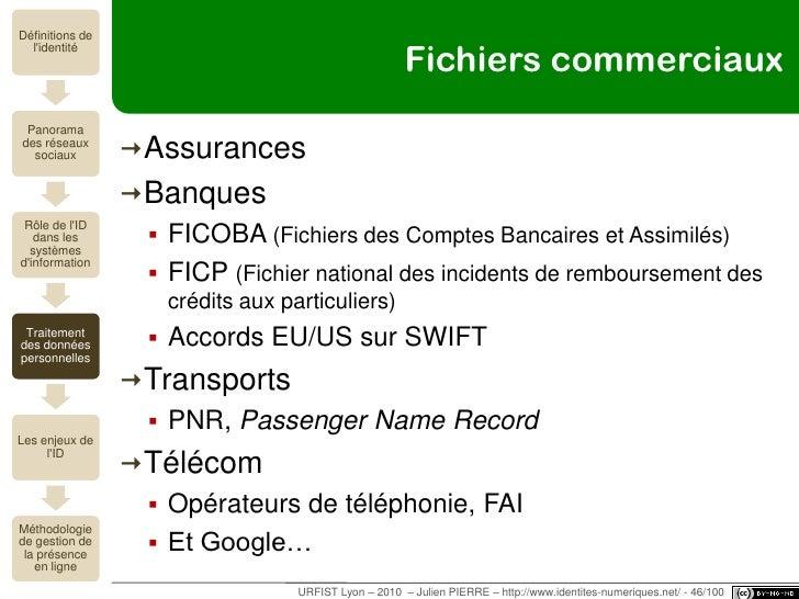 1 individu = 600/800 fichiers<br />L'identité dans les dispositifs de traitement des données personnelles<br />URFIST Lyon...