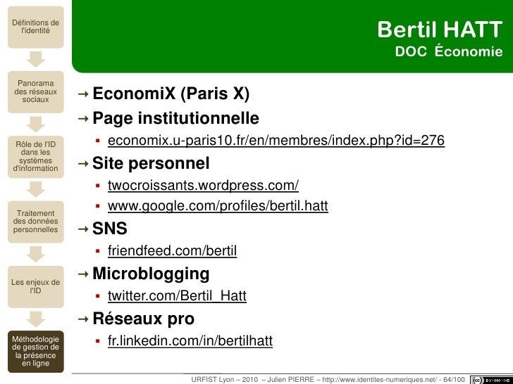 Olivier le DEUFF MC SIC<br />Université Lyon 3 <br />Page institutionnelle<br />www.univ-lyon3.fr/fr/liens-directs/annuair...