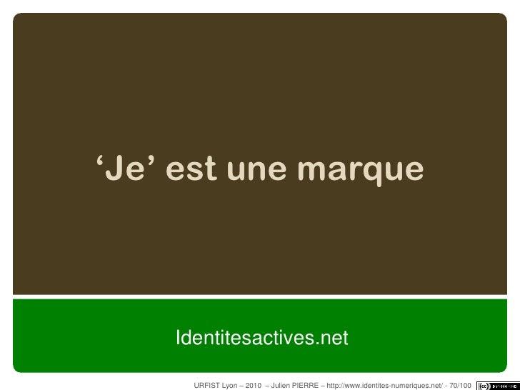 stage urfist sur l u0026 39 identit u00e9 num u00e9rique