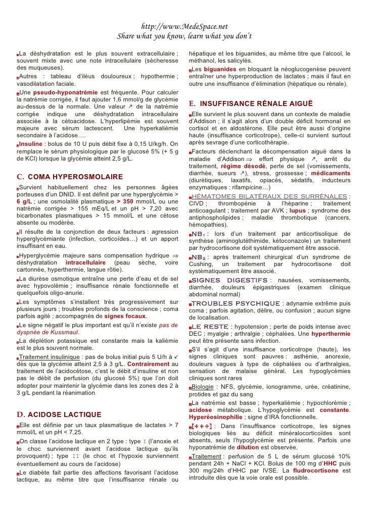 Urgences Endocrinologiques Slide 2