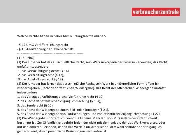 Urheberrecht vz th faju13 Slide 2