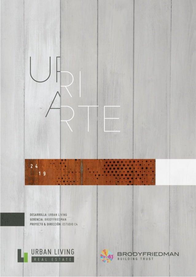 Uriarte 2419 - Brochure