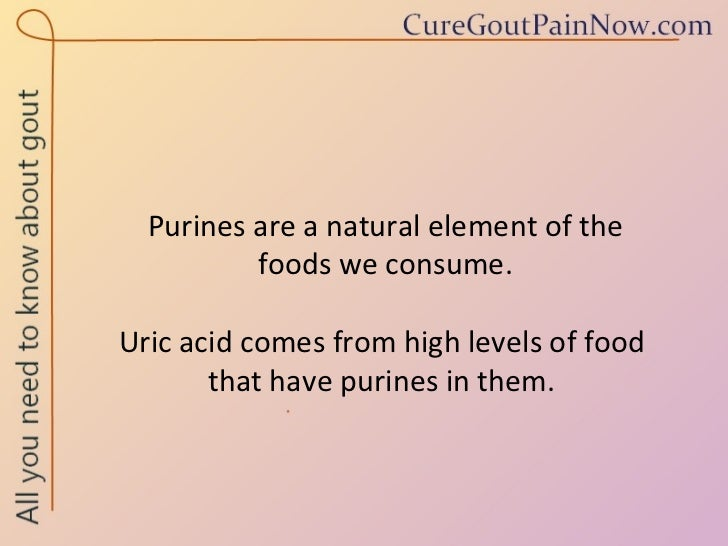 treatment for prevention of gout food to avoid for gout problem medications - can cause increased levels of uric acid in the blood