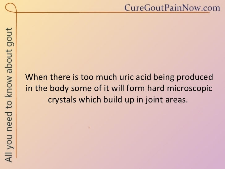cure for gout apple cider vinegar signs of high levels of uric acid sudden ankle pain gout