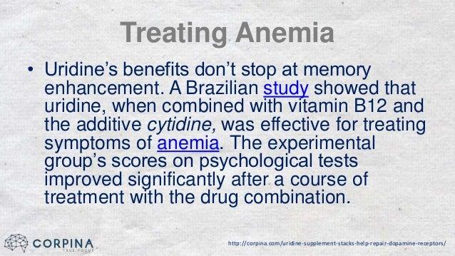 The Uridine Supplement Stacks Help Repair Dopamine Receptors