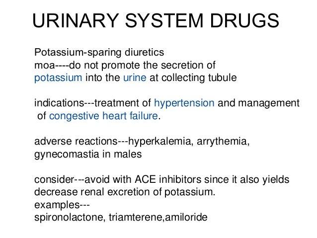 Urinary drugs