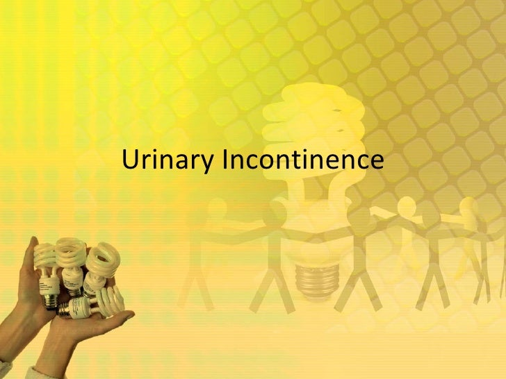 how to fix urinary incontinence