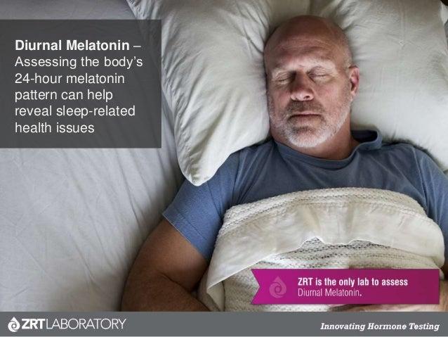Diurnal Melatonin – Assessing the body's 24-hour melatonin pattern can help reveal sleep-related health issues