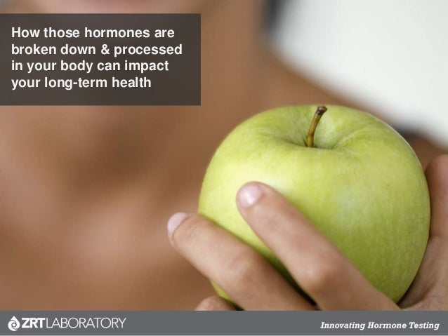 How those hormones are broken down & processed in your body can impact your long-term health