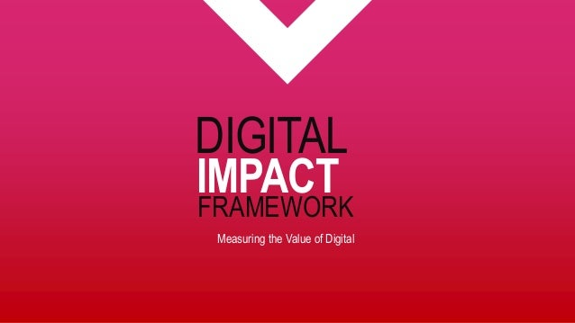 Measuring the Value of Digital FRAMEWORK IMPACT DIGITAL
