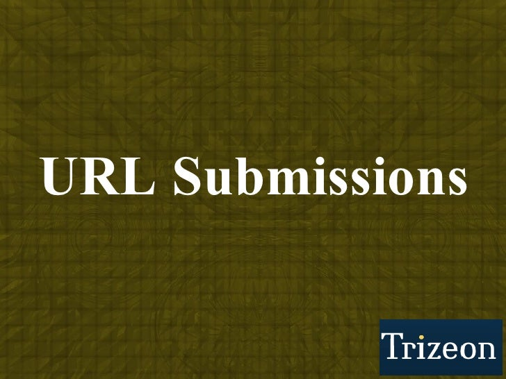 URL Submissions
